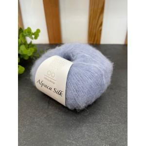 Пряжа Alpaca Silk 5930 голубой
