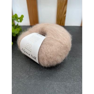 Пряжа Alpaca Silk 2650 светло бежевый