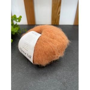 Пряжа Alpaca Silk 2355 оранжевый