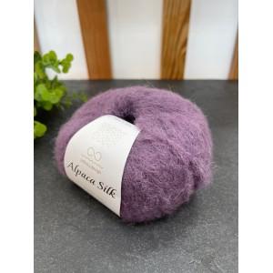 Пряжа Alpaca Silk 5042 пыльно фиолетовый