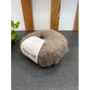 Пряжа Alpaca Silk  2652 темный беж