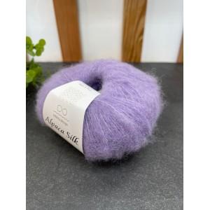 Пряжа Alpaca Silk 5031 лаванда